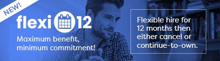 Flexi-12 - Maximum benefits, minimum commitment