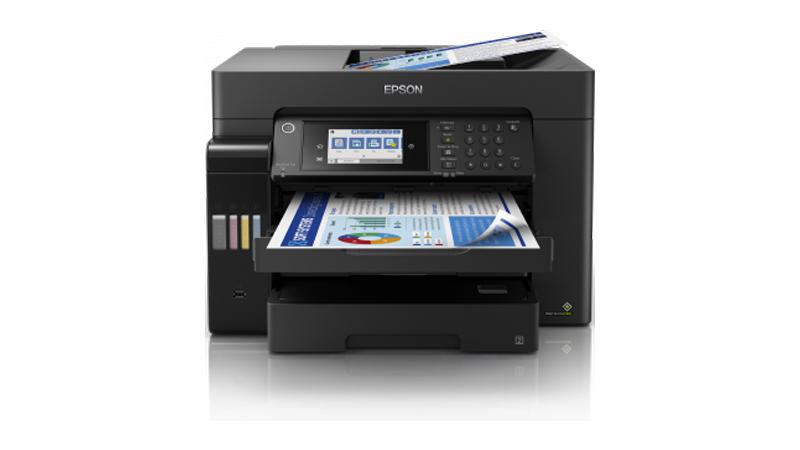 Epson EcoTank ET-16600 A3+ Colour Multifunction Inkjet Printer front display