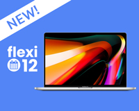 New Flexi-12 leasing option available on the MacBook Pro 16""