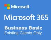 Microsoft 365 Business Basic - Existing Clients Only