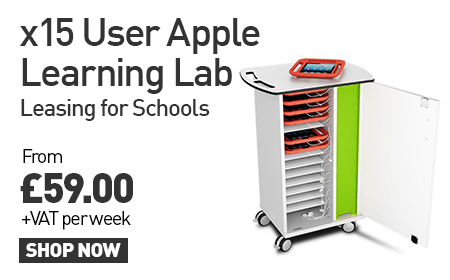 x15 User Apple learning lab - leasing for schools from £59 + VAT per week