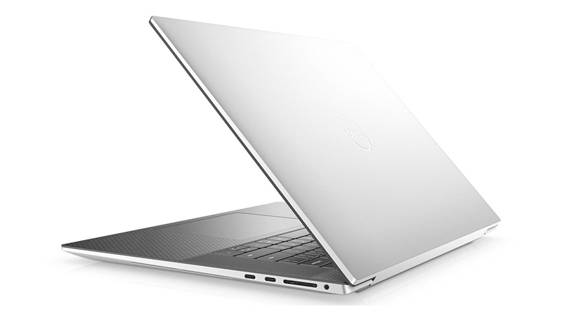 Dell XPS 15 back open view