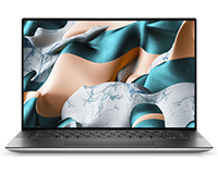 Dell XPS 15 front open view