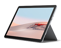 Surface Go 2 front open side view