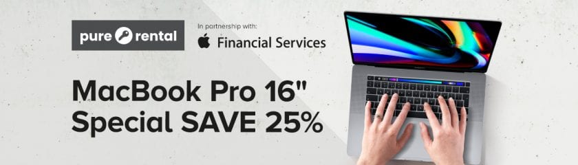 "Pure Rental MacBook Pro 16"" Special Blog"