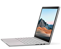 "Surface Book 3 15"" side open view"