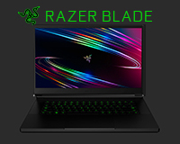Razer Blade 15 Base open front view