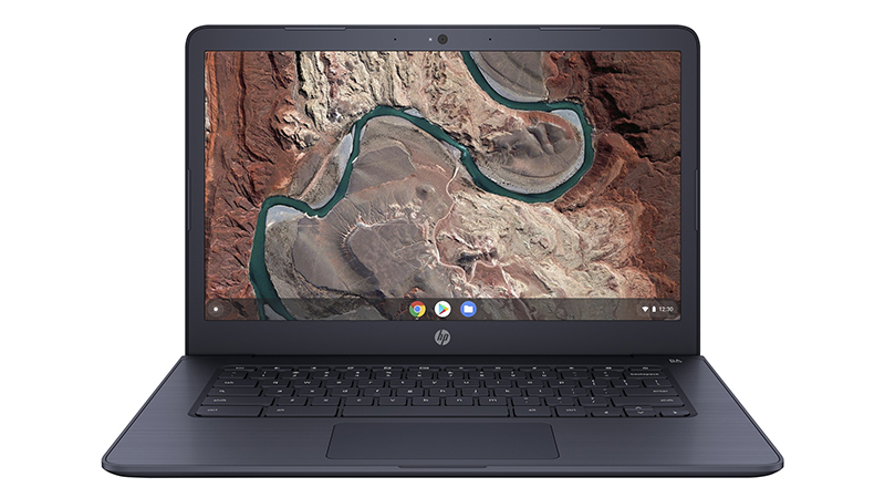 HP Chromebook 14A G5 Laptop front open view
