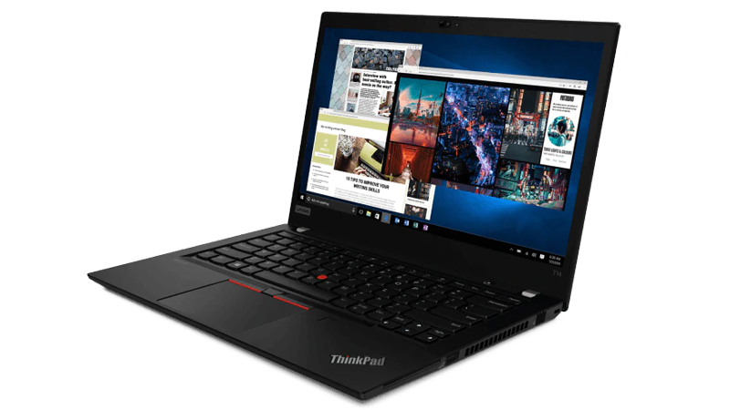 Lenovo ThinkPad T14 front side view