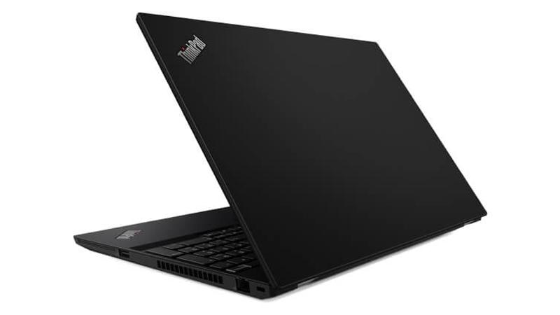 Lenovo ThinkPad T15 back open view