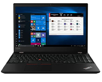 Lenovo ThinkPad T15 front open view