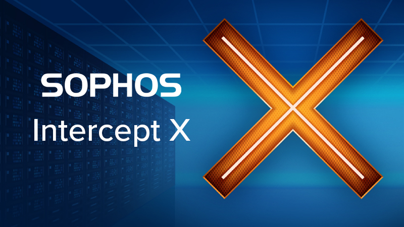 Sophos Intercept X Endpoint Advanced security software