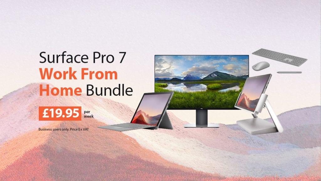 Surface Pro 7 Bundle from HardSoft
