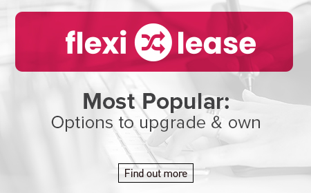 Flexi-Lease Most Popular: Options to upgrade & own