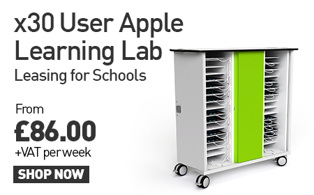 x30 User Apple Learning Lab Leasing for School for £86 + VAT Per Week