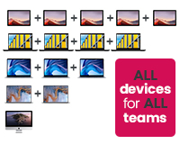 All Devices for All Teams - multiple devices for different teams