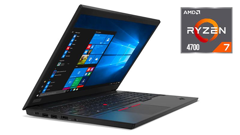 Lenovo ThinkPad E15 with AMD Ryzen 7 4700