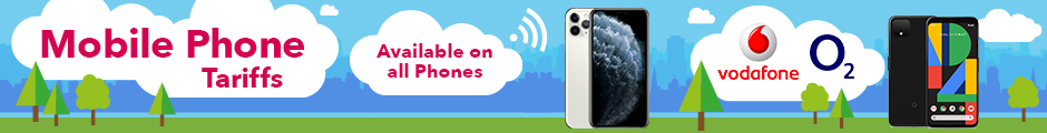 Mobile Phone Tariffs - Available on all Phones - Vodafone & O2