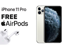iPhone 11 Pro FREE AirPods