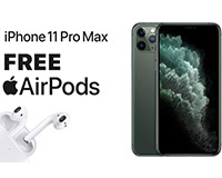 iPhone 11 Pro Max FREE Airpods