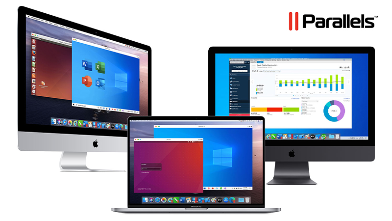 Parallels Desktop for Mac with Windows 10