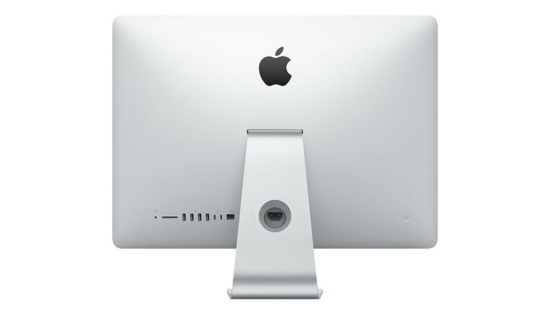 iMac 21.5 inch back view