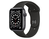 Apple Watch Series 6 Space Grey Front view