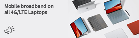 Free Mobile Broadband on all 4G/LTE Laptops