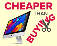 "Lease an iMac 27"" - Cheaper than buying"