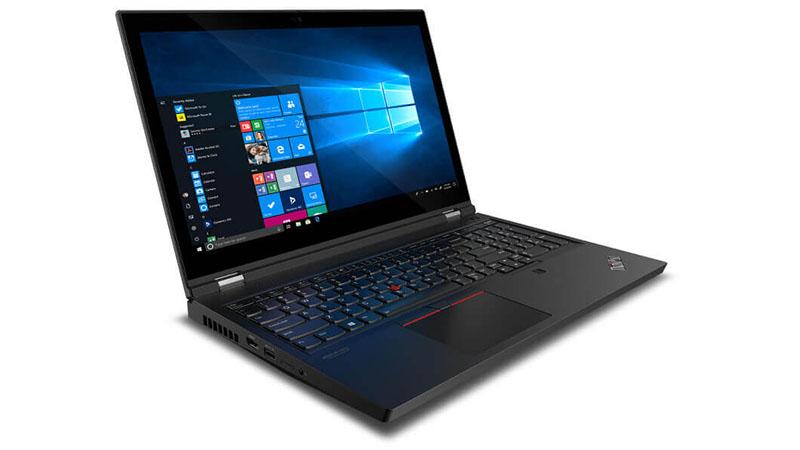 Lenovo ThinkPad P15 Side view