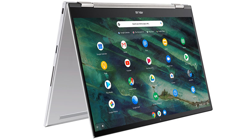 ASUS Chromebook Flip C436 tablet view