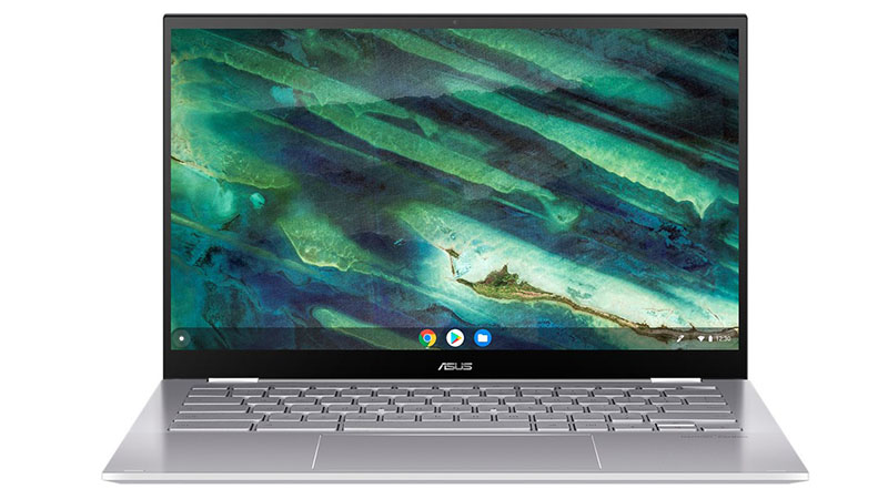 ASUS Chromebook Flip C436 front open view of laptop