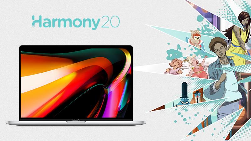Macbook Pro 16 Harmony