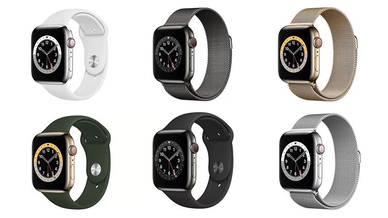 Apple Watch Series 6 options