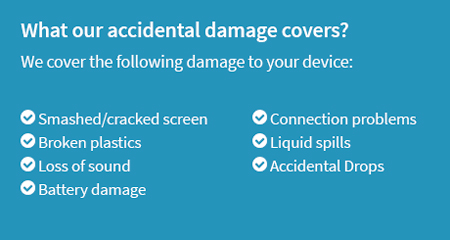 What our accidental damage covers?