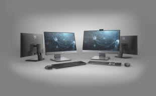 Dell Optiplex 7480 All in One Computer on a white background