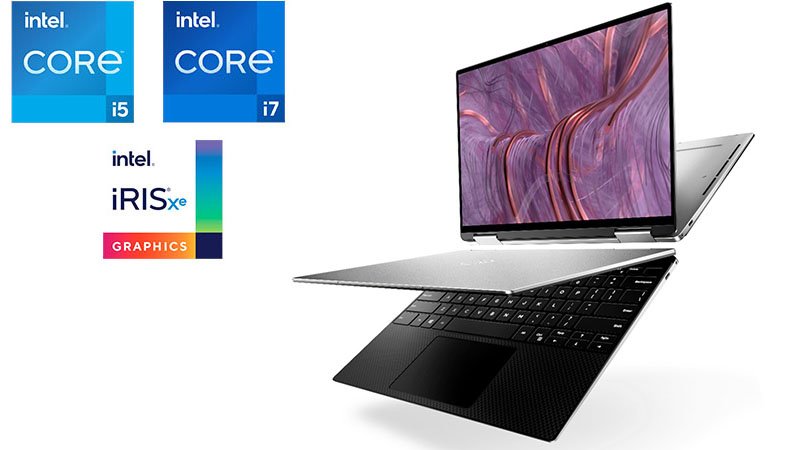 Dell XPS 13 9310 2-in-1 with Intel Core i5, i7 and Iris Xe graphics