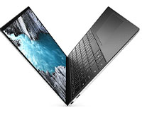 Dell XPS 13 9310 laptop showing open upright view