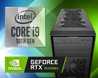 Custom PC intel i9 10th Gen with GeForce RTX GPU