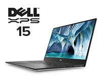 Dell XPS 15 9500 laptop view