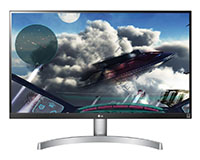 LG27UL600-W front view