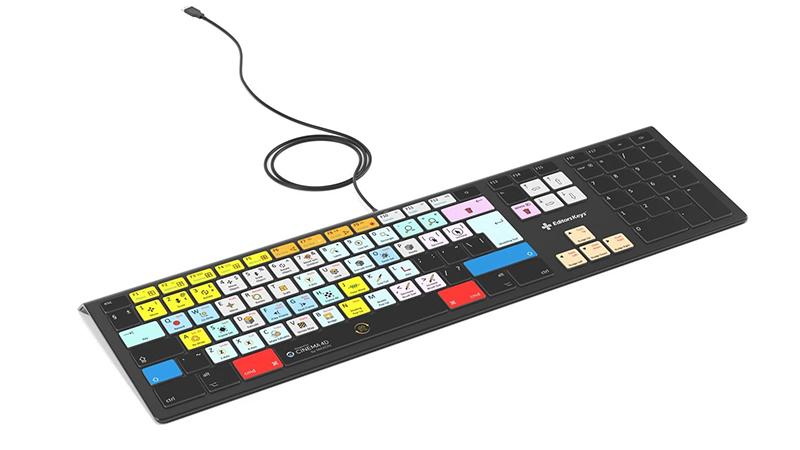 Maxon Cinema 4D Keyboard - Backlit - For Mac or PC