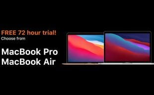 Try for free a new M1 Macbook
