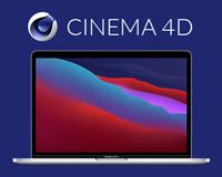 "MacBook Pro 13"" bundle Maxon Cinema 4D"