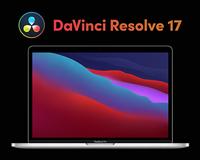 "MacBook Pro 13"" bundle DaVinci Resolve 17"