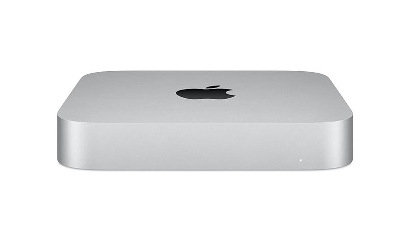 Mac Mini In Silver front view