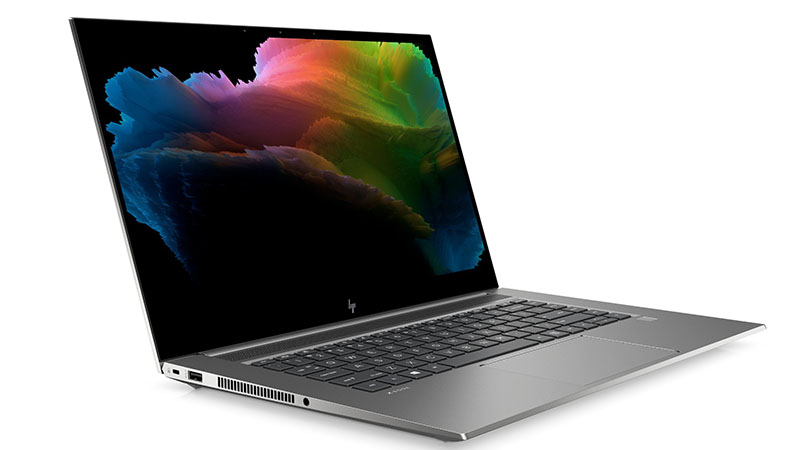 HP ZBook Create G7 side view
