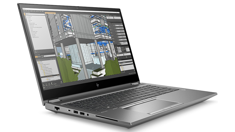 hp zbook fury 15 g7 side view gallery