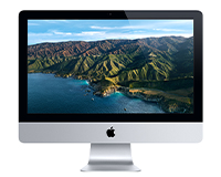 "iMac 21"" front view"
