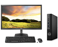"""Dell Optiplex 3080 with 22"""" LG display and keyboard and mouse"""